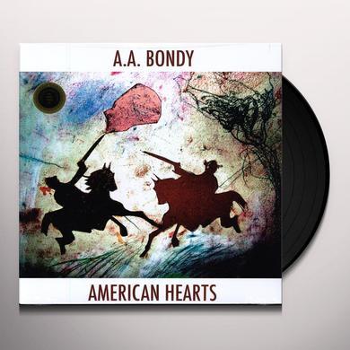 A.A. Bondy AMERICAN HEARTS Vinyl Record