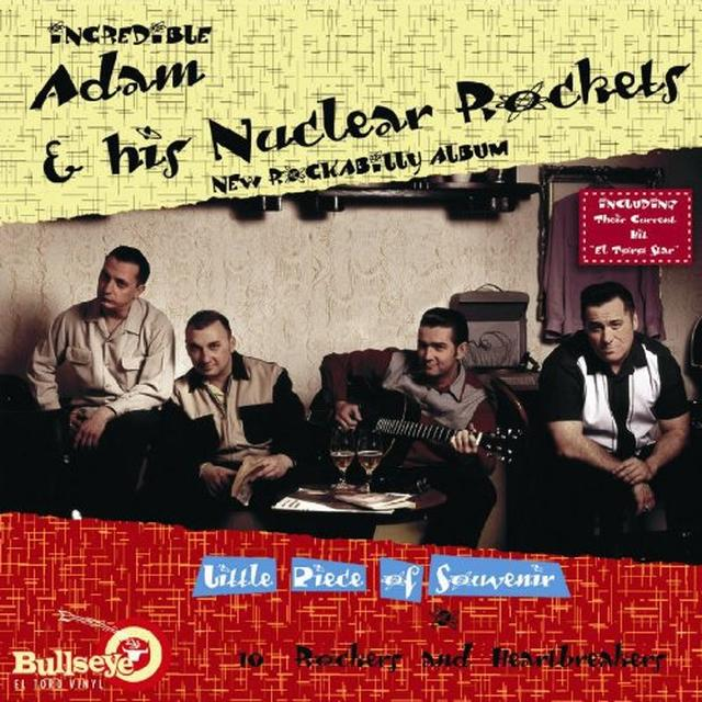 Adam & Nuclear Rockets LITTLE PIECE OF SOUVENIR Vinyl Record - w/CD