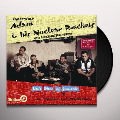 Adam & Nuclear Rockets LITTLE PIECE OF SOUVENIR Vinyl Record
