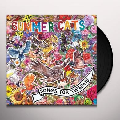 Summer Cats SONGS FOR TUESDAYS Vinyl Record - Digital Download Included