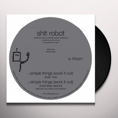 Shit Robot SIMPLE THINGS Vinyl Record
