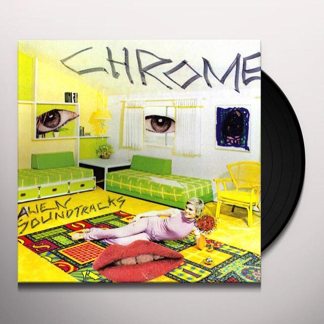 Chrome ALIEN SOUNDTRACKS Vinyl Record - Limited Edition, Reissue