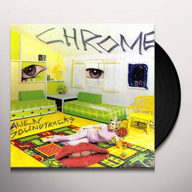 Chrome ALIEN SOUNDTRACKS Vinyl Record - Limited Edition, Reissue