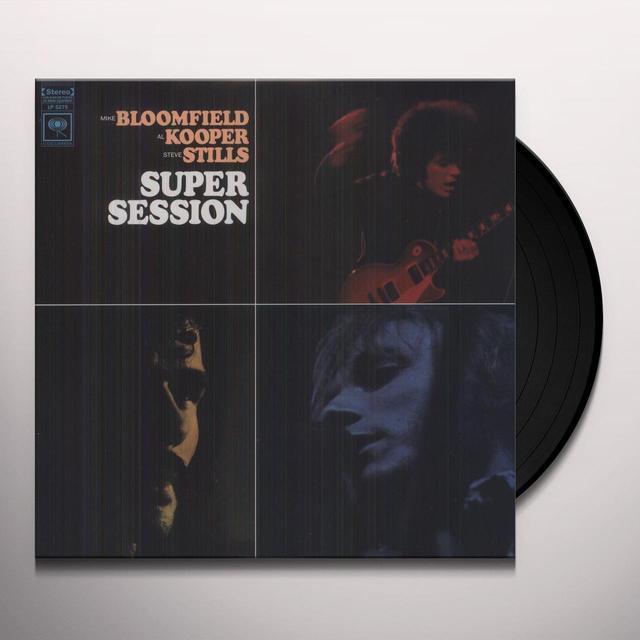 Mike Bloomfield / Al Kooper SUPER SESSION (RSTR) Vinyl Record - Reissue