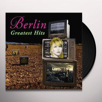 Berlin GREATEST HITS Vinyl Record