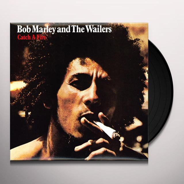 Bob Marley CATCH A FIRE Vinyl Record - 180 Gram Pressing, Special Edition, Reissue
