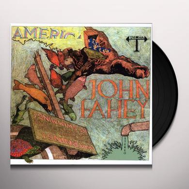 John Fahey AMERICA Vinyl Record