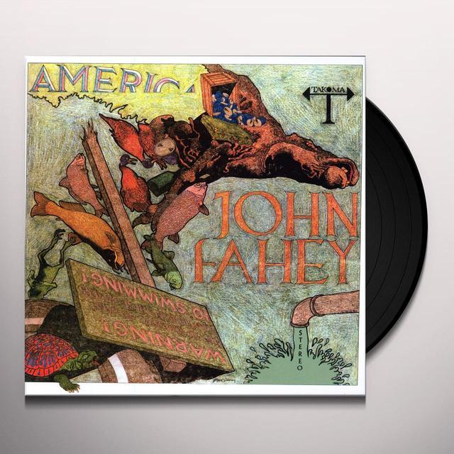 John Fahey AMERICA Vinyl Record - Limited Edition, 180 Gram Pressing