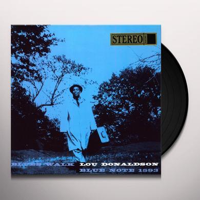 Lou Donaldson BLUES WALK Vinyl Record - 180 Gram Pressing