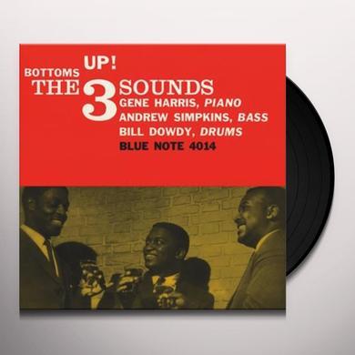 3 Sounds BOTTOM'S UP Vinyl Record - 180 Gram Pressing