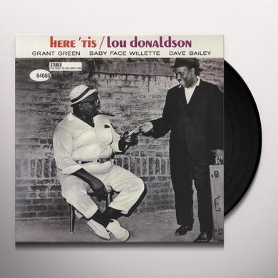 Lou Donaldson HERE TIS Vinyl Record - 180 Gram Pressing
