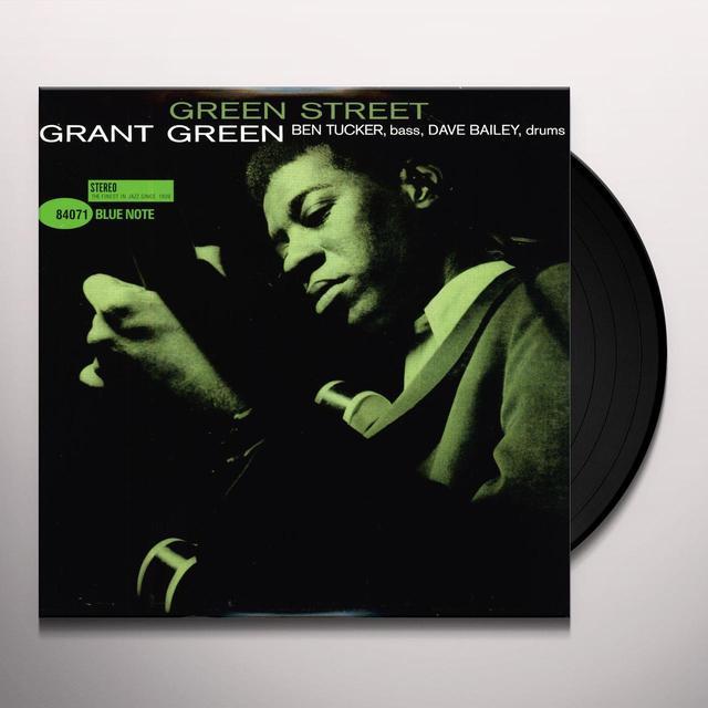 Grant Green GREEN STREET Vinyl Record - 180 Gram Pressing