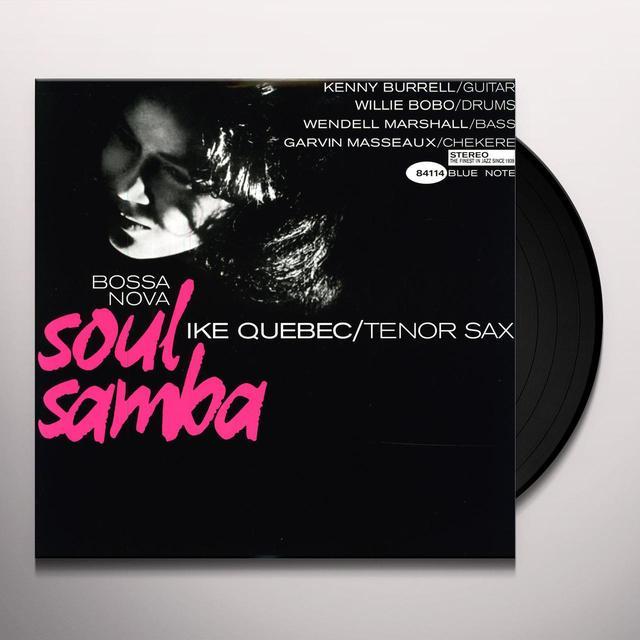 Ike Quebec BOSSA NOVA SOUL SAMBA Vinyl Record - 180 Gram Pressing