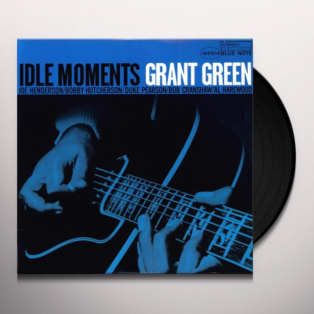Grant Green IDLE MOMENTS Vinyl Record
