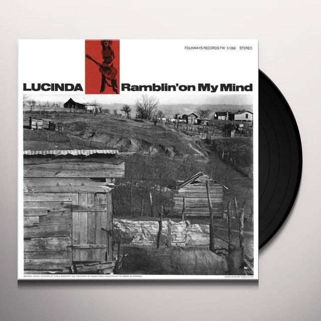 Lucinda Williams RAMBLIN ON MY MIND Vinyl Record