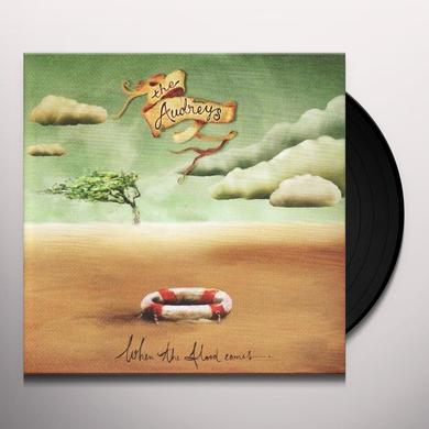 The Audreys WHEN THE FLOOD COMES Vinyl Record - Limited Edition