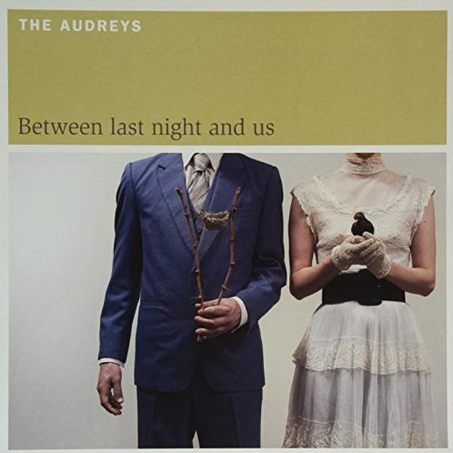 The Audreys BETWEEN LAST NIGHT & US Vinyl Record