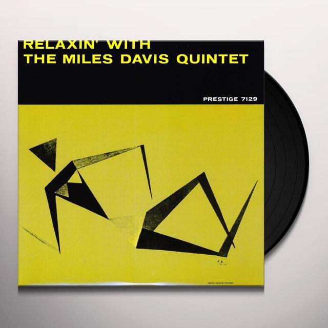 Miles Davis RELAXIN Vinyl Record