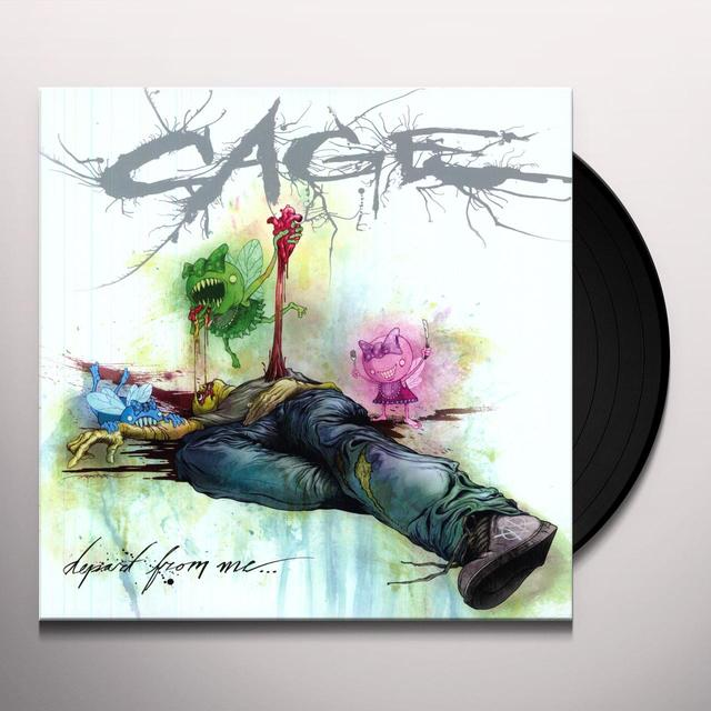 Cage DEPART FROM ME Vinyl Record