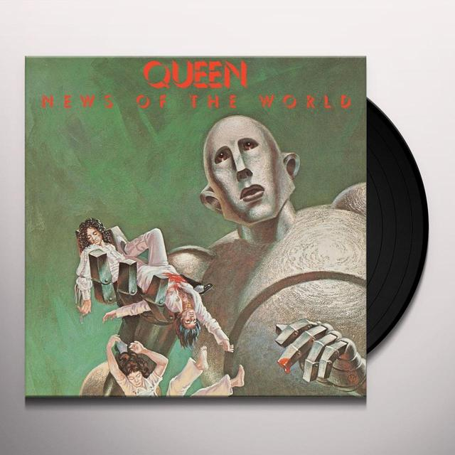 Queen NEWS OF THE WORLD Vinyl Record - 180 Gram Pressing, Collector's Edition, Reissue