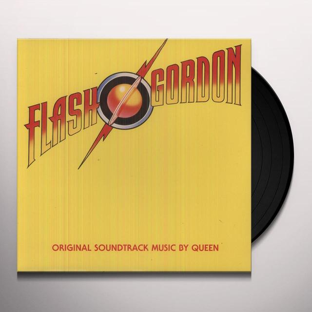 Queen FLASH GORDON Vinyl Record - 180 Gram Pressing, Collector's Edition, Reissue