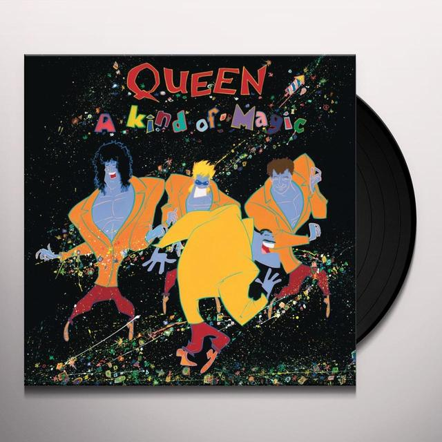Queen KIND OF MAGIC Vinyl Record - 180 Gram Pressing, Collector's Edition, Reissue