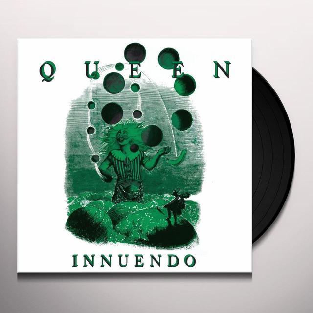 Queen INNUENDO Vinyl Record - 180 Gram Pressing, Collector's Edition, Reissue