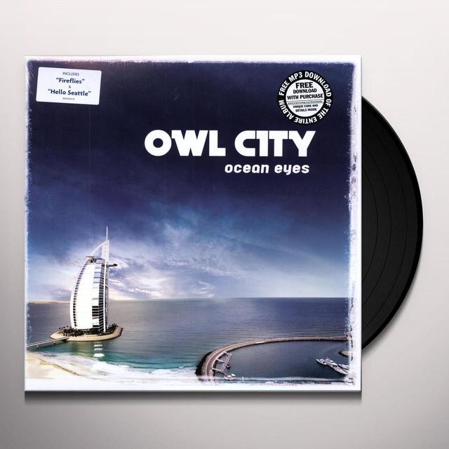 Owl City OCEAN EYES Vinyl Record