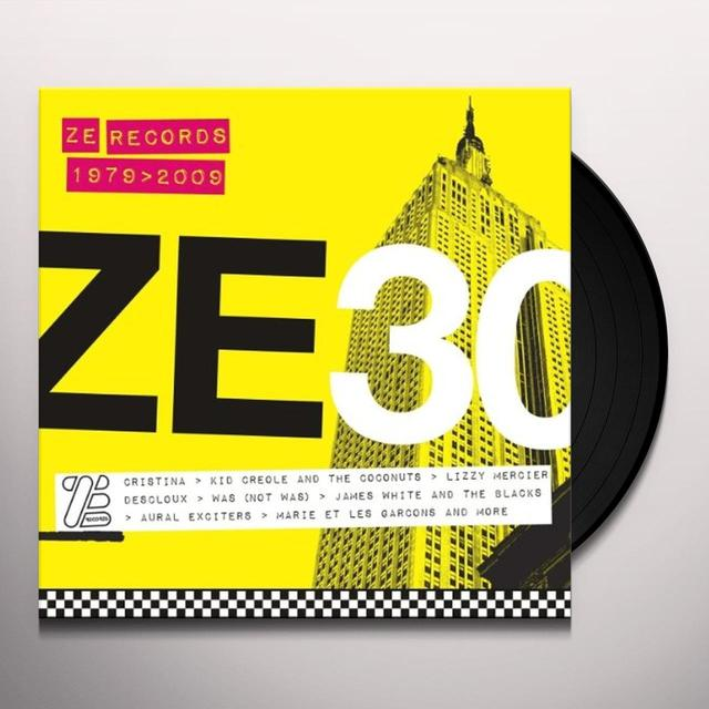 ZE 30: ZE RECORDS STORY 1979-2009 / VARIOUS Vinyl Record