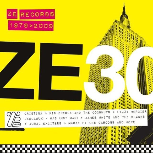 ZE 30: ZE RECORDS STORY 1979-2009 / VARIOUS Vinyl Record
