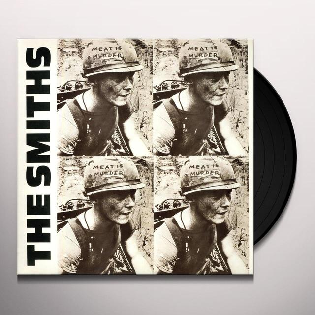 The Smiths MEAT IS MURDER Vinyl Record - 180 Gram Pressing, Remastered