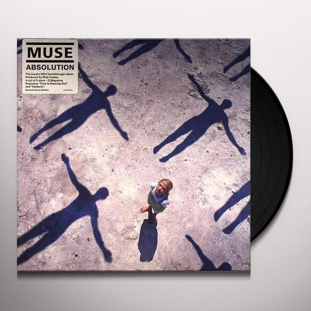 Muse ABSOLUTION Vinyl Record