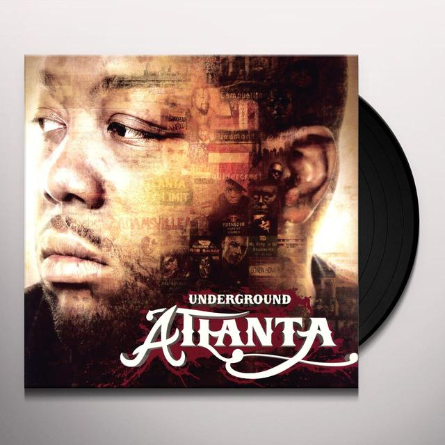 Killer Mike UNDERGROUND ATLANTA (Vinyl)