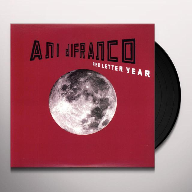 Ani Difranco RED LETTER YEAR (BONUS TRACK) Vinyl Record - Remastered