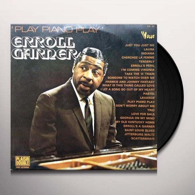 Erroll Garner PLAY PIANO PLAY Vinyl Record - 180 Gram Pressing