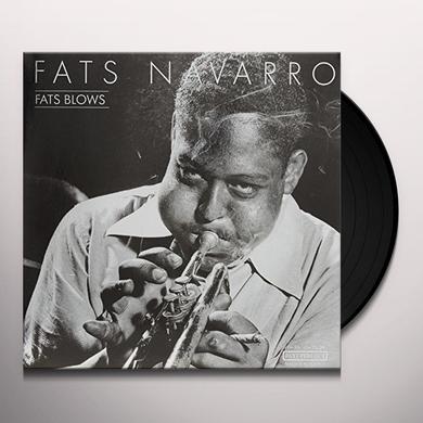 Fats Navaro FATS BLOWS Vinyl Record