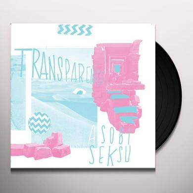Asobi Seksu TRANSPARENCE Vinyl Record - Limited Edition, Digital Download Included