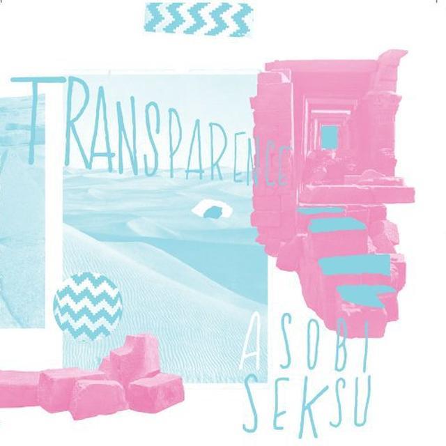 Asobi Seksu TRANSPARENCE Vinyl Record - Limited Edition, Digital Download Included
