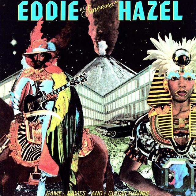 Eddie Hazel GAMES DAMES & GUITAR THANGS Vinyl Record