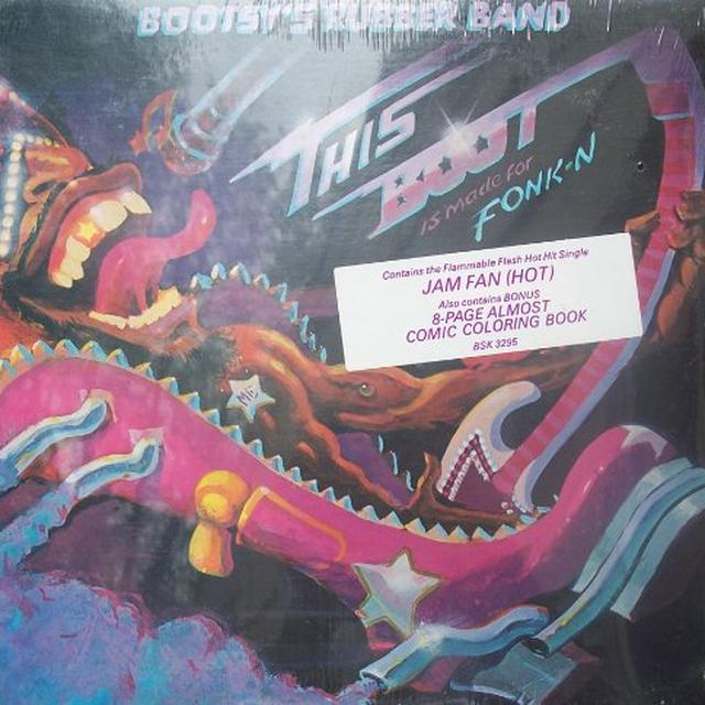 Bootsy'S Rubber Band THIS BOOT IS MADE FOR FONK-N Vinyl Record - 180 Gram Pressing