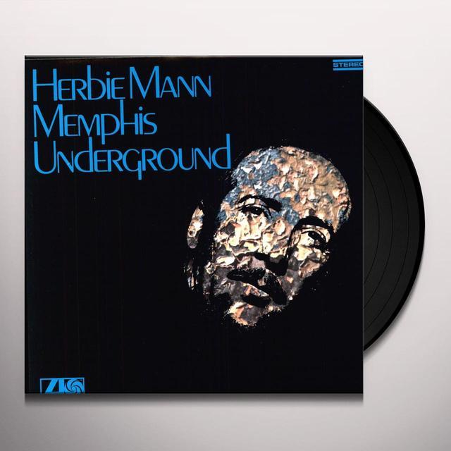 Herbie Mann MEMPHIS UNDERGROUND Vinyl Record