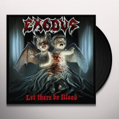 Exodus LET THERE BE BLOOD (BONUS TRACK) Vinyl Record - Limited Edition