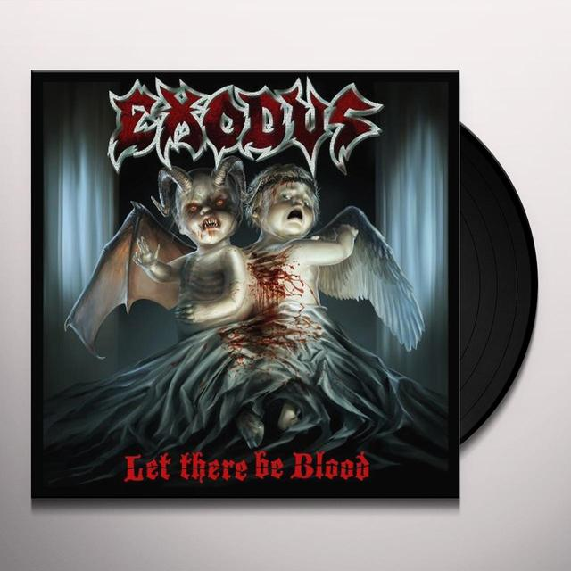 Exodus LET THERE BE BLOOD Vinyl Record