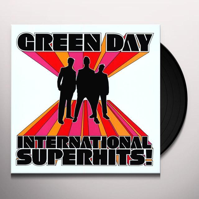 Green Day INTERNATIONAL SUPERHITS Vinyl Record