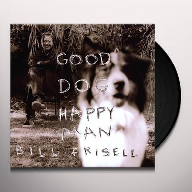 Bill Frisell GOOD DOG HAPPY MAN (BONUS CD) Vinyl Record - 180 Gram Pressing
