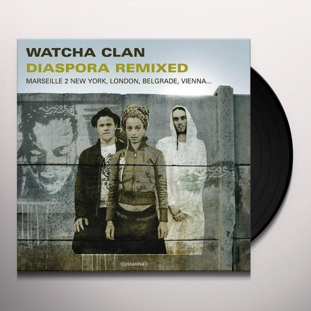 Watcha Clan DIASPORA REMIXED Vinyl Record