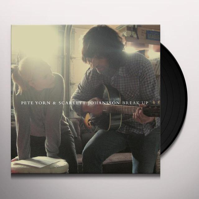 Pete Yorn & Scarlett Johansson BREAK UP Vinyl Record - 180 Gram Pressing