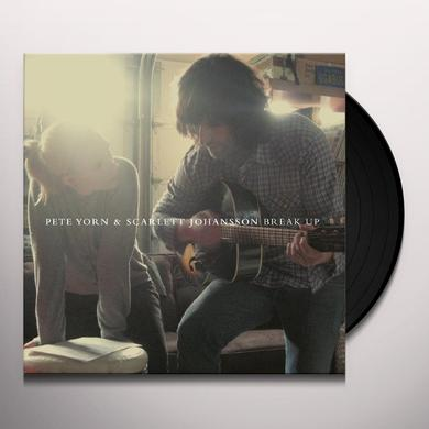 Pete Yorn & Scarlett Johansson BREAK UP Vinyl Record - 180 Gram Pressing