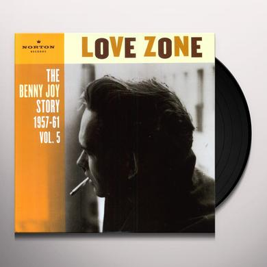 Benny Joy LOVE ZONE 5 Vinyl Record