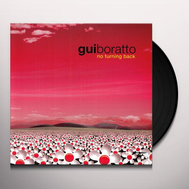 Gui Boratto NO TURNING BACK Vinyl Record